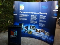 Pop Up Stand for International Security Company
