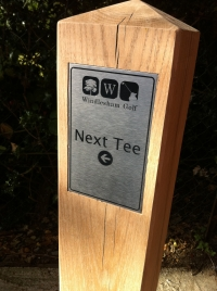 Windlesham Golf Club - Next Tee Posts