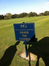Windlesham Golf Club - Directional Signage