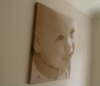 Digitally Printed Canvas Print on Frame