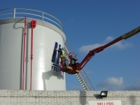 Oil Refinery Exterior Signage