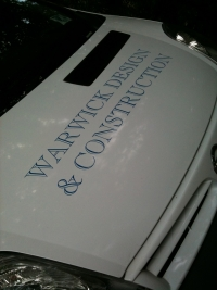Warwick Construction Vehicle Livery