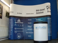 Digitally Printed Pop Up Stand