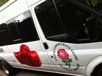 Boxing Club Mini Bus Graphics