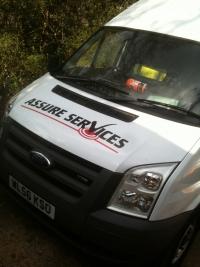 Assure Services Van Livery