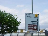 Runnymede Highways Signage