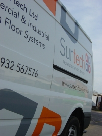 Surtech Ltd Vehicle livery
