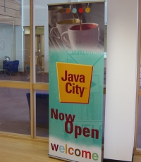 Java City - Roller Banner