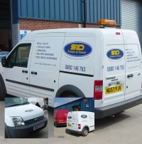 SDL Pumps - Vehicle livery