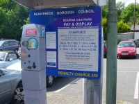 Runnymede Borough Council - Pay & Display Tariff Boards