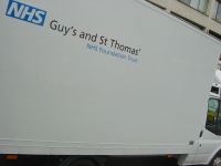 Guys Hospital - NHS Vehicle livery