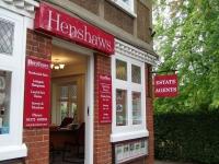 Henshaws - Bookham Exterior signage