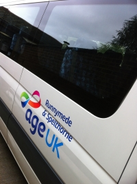 Age UK - Mini Bus Livery