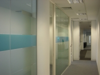 Office partition walls - Frosting