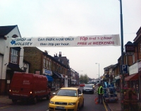 East Molesey - 30' High street Banner
