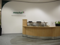 Mouchel - Acrylic Reception Plaque