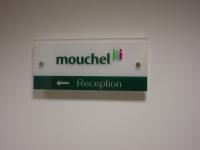 mouchel - Acrylic Directional Plaque