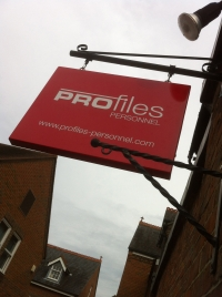 Profiles - Exterior projecting signage