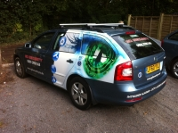 GD Security - Skoda Estate Livery Vinyl wrap