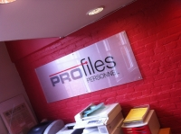 Profiles - interior acrylic wall plaque