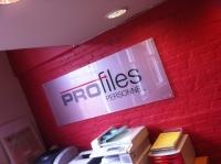 Profiles - interior acrylic wall plaque