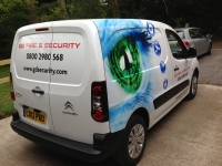 GD Security - Berlingo Livery Vinyl wrap