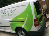 Nick Boden - VW Caddy Maxi Part Vinyl Wrap